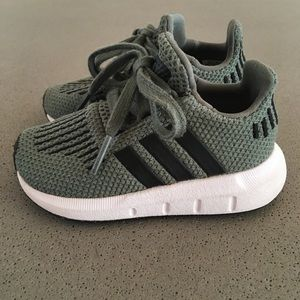 "Adidas ""swift run"" toddler shoes"